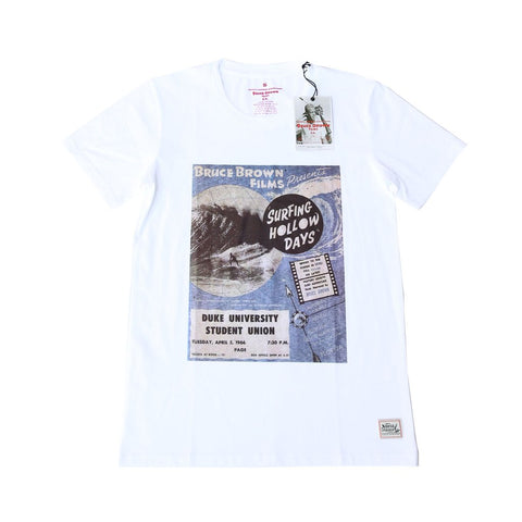 BRUCE BROWN SURFING HOLLOW DAYS TEE