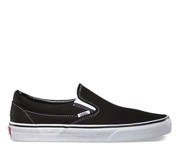 VANS - Classic Slip-On - BLACK/WHITE