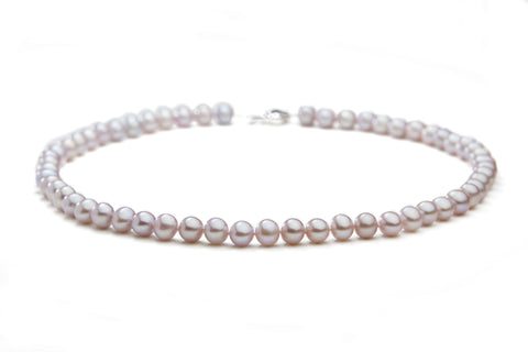 Pink Fresh Water Pearl Necklace