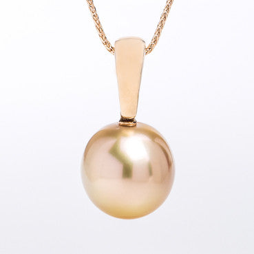 Australian Golden South Sea Pearl Pendant