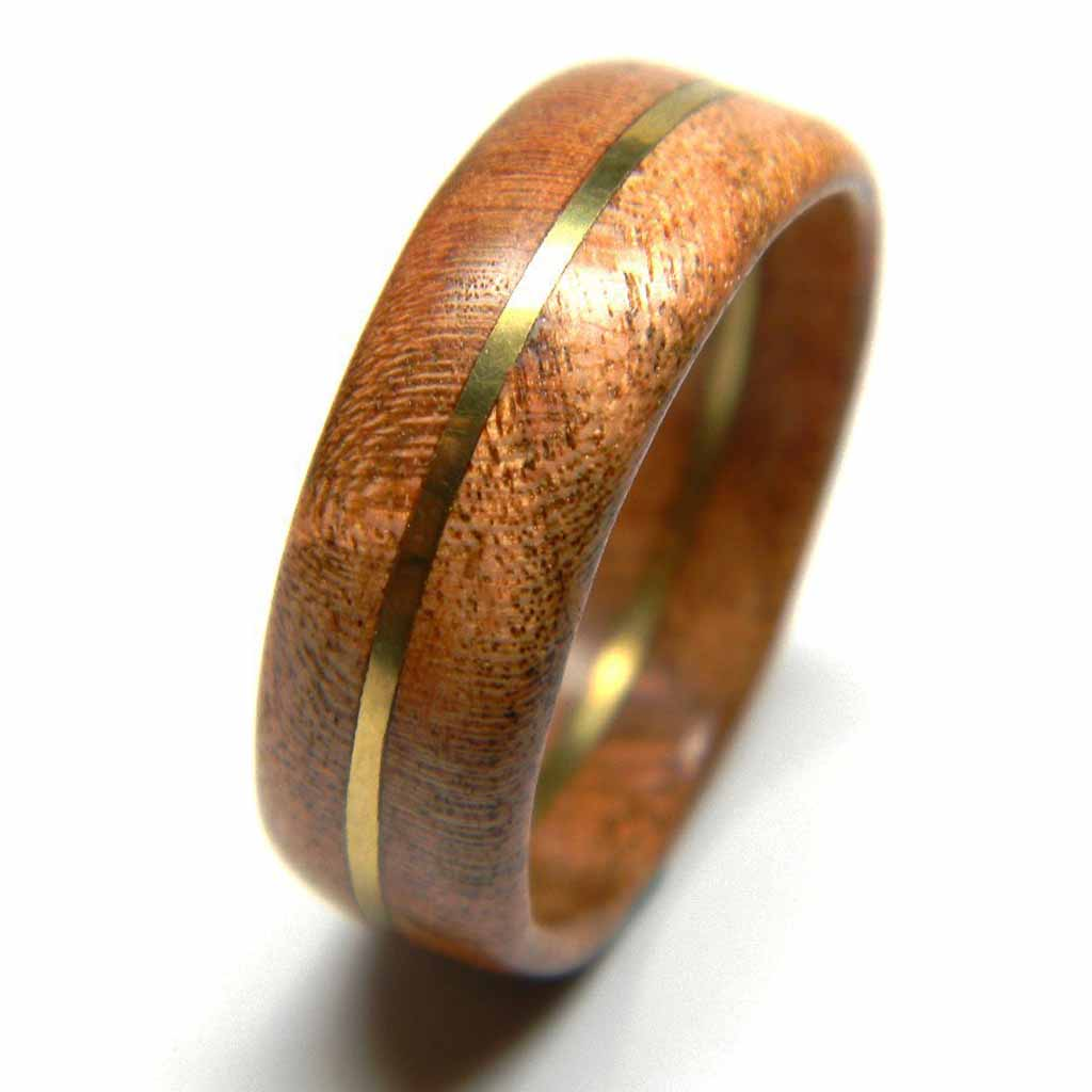 Cherry Wood Ring · Menu0027s Wood Wedding Band Size