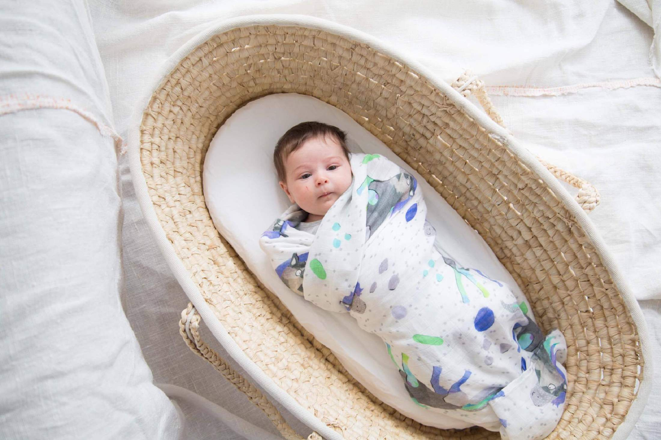 BAMBOO SWADDLE | MAGIC HORSES - Cooper's Crib