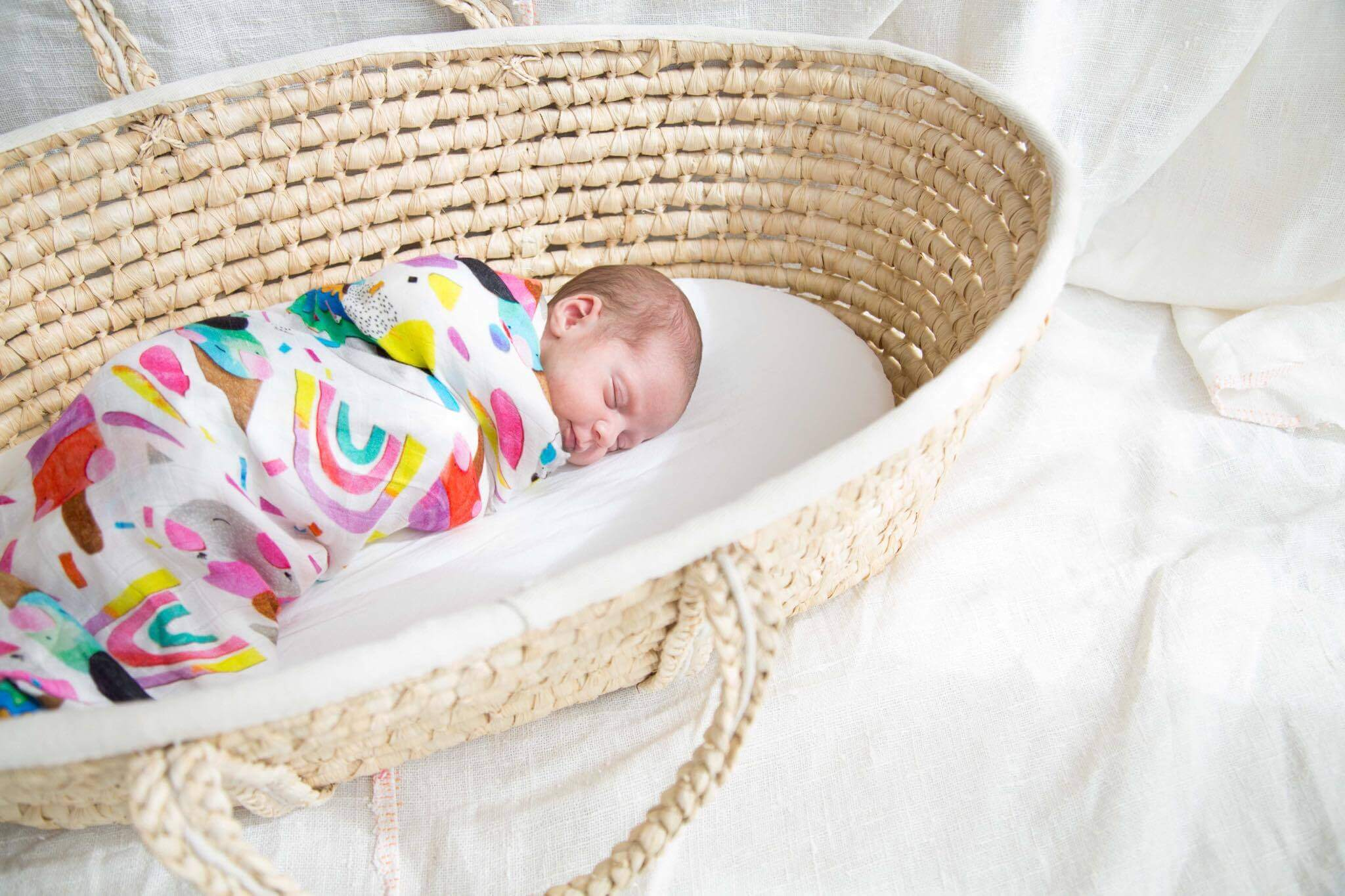 BAMBOO SWADDLE | SUMMER DREAMS