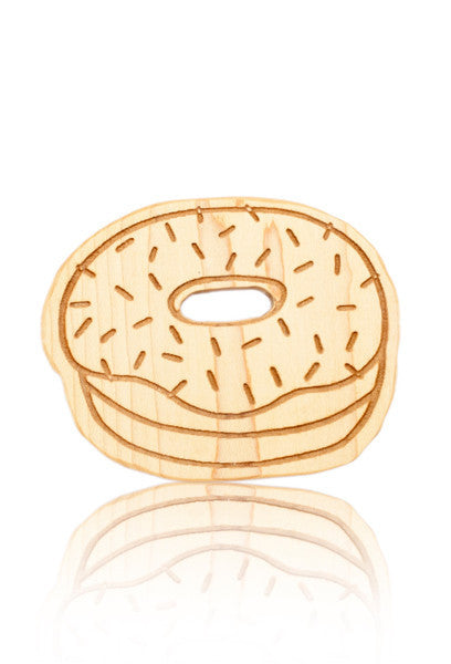 DONUT TEETHER | HARLOW | MAPLE WOOD - Cooper's Crib