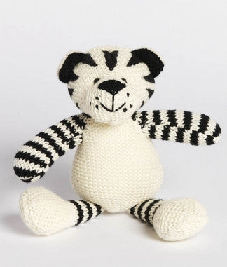 TIGER RATTLE | COTTON - Cooper's Crib