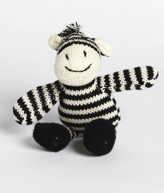 ZEBRA RATTLE | COTTON - Cooper's Crib