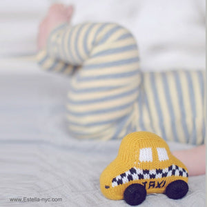 TAXI RATTLE | ORGANIC COTTON - Cooper's Crib