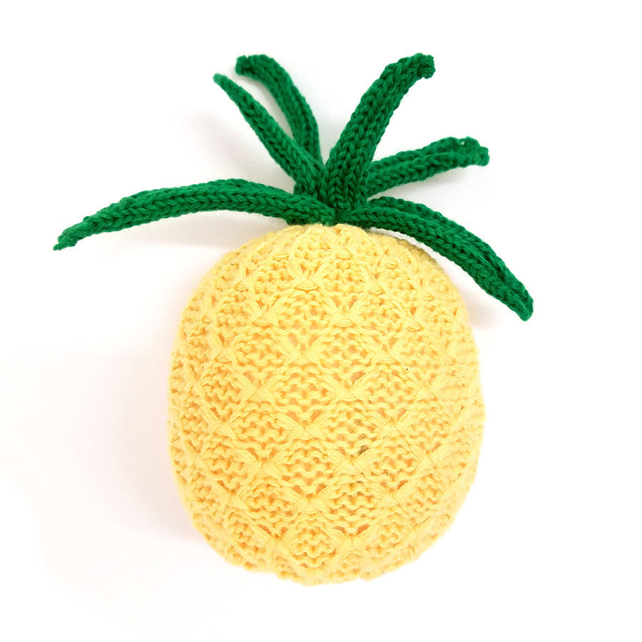 PINEAPPLE RATTLE | ORGANIC COTTON - Cooper's Crib