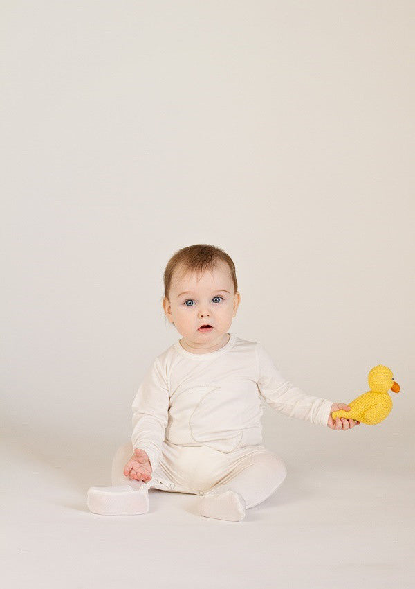RUBBER DUCKY RATTLE | ORGANIC COTTON - Cooper's Crib