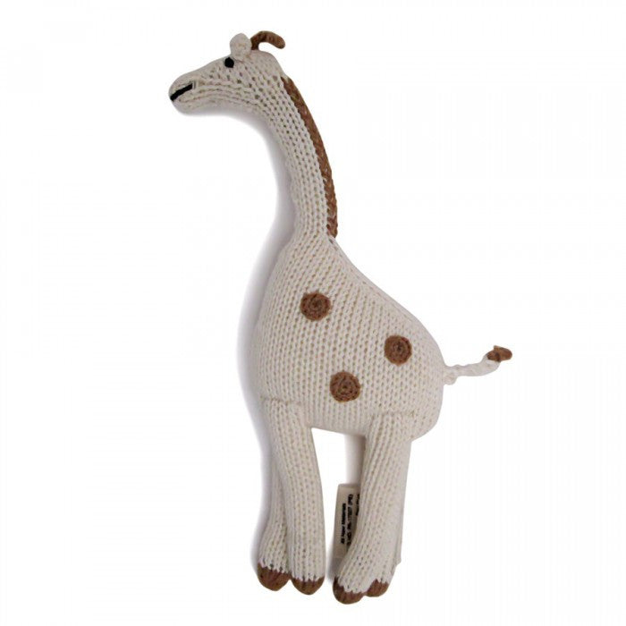 GIRAFFE RATTLE | ORGANIC COTTON - Cooper's Crib