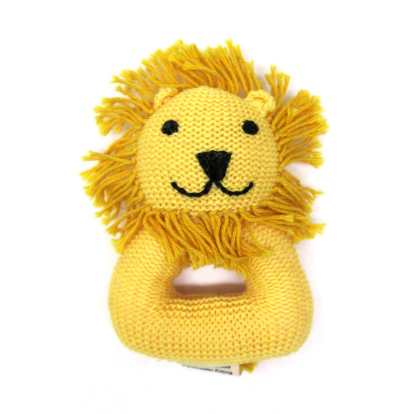 LION RATTLE WITH HANDLE