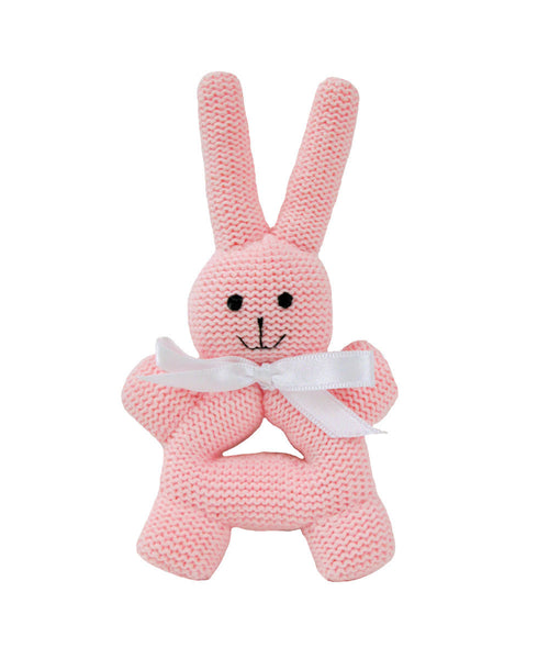 BUNNY RATTLE WITH HANDLE