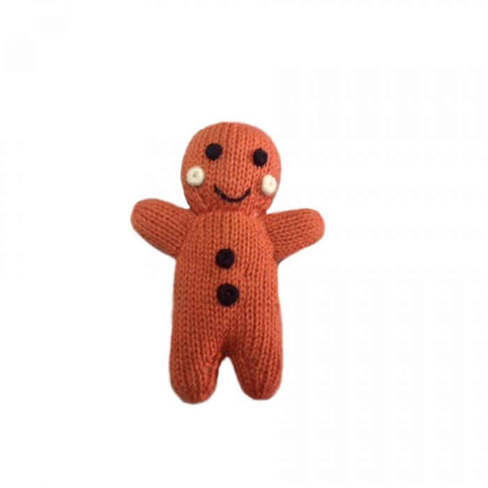 GINGERBREAD MAN RATTLE | ORGANIC COTTON - Cooper's Crib