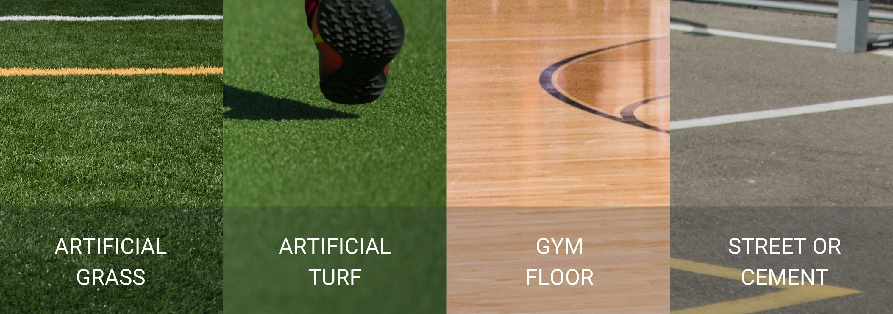 Artificial Playing Surface Types