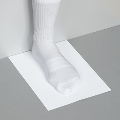 Measuring foot size for adidas footwear