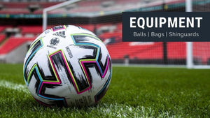 Shop Balls, Bags, Shinguards, and Equipment