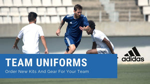 Team Uniforms: Order new kits and gear for your team