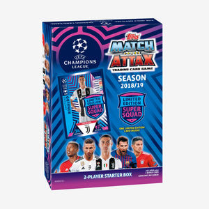 Topps UEFA Champions League Match Attax Starter Box