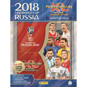 Panini - Panini Adrenalyn World Cup 2018 Starter Pack Album - La Liga Soccer