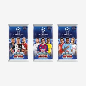 Topps 2019/20 UEFA Champions League Match Attax 6-Card Pack