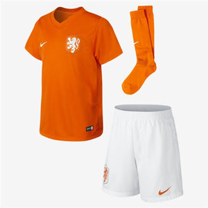 Nike - Nike Dutch Little Boys Home Kit 14 - Dutch National - La Liga Soccer