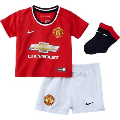 7f8dd5ebf Nike - Nike Manchester United Infants Home Kit - La Liga Soccer