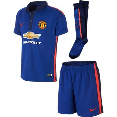 newest 70fd6 45d59 Nike Manchester United Little Boys Kit FLD
