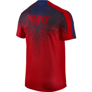 Nike - Nike Paris Saint-Germain Pre-Match 2 Men's Football S/S Jersey - PSG - La Liga Soccer