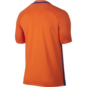 Nike - Nike Youth Netherlands Home Stadium Football Short-Sleeve Jersey - La Liga Soccer