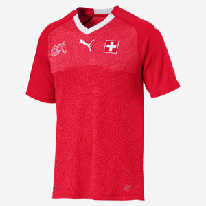 Puma - Puma Switzerland Home 2018 Replica Jersey - La Liga Soccer