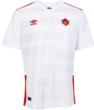 Umbro - Umbro Canada Away 2015 Short Sleeve Youth Jersey - La Liga Soccer