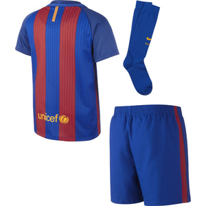 Nike Kids' FC Barcelona Home Kit 2016/17