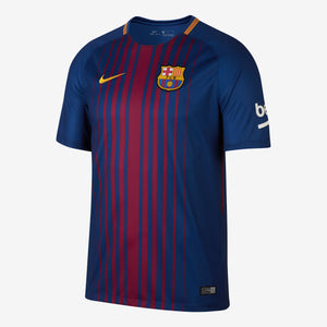 Men's Nike Breathe FC Barcelona 2017/18 Home Stadium Jersey