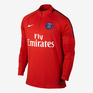 Nike - Men's Nike Dry Paris Saint-Germain Squad Drill Top - La Liga Soccer