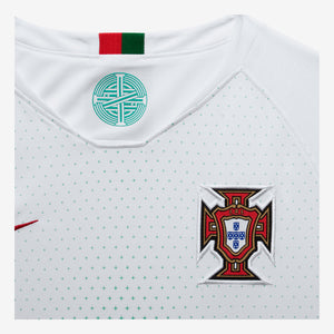 Kids' Nike Breathe Portugal Away Stadium Jersey