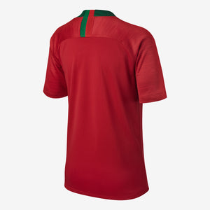 Nike - Kids' Nike Breathe Portugal Stadium Home Jersey - La Liga Soccer