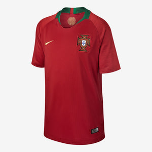 Kids' Nike Breathe Portugal Stadium Home Jersey