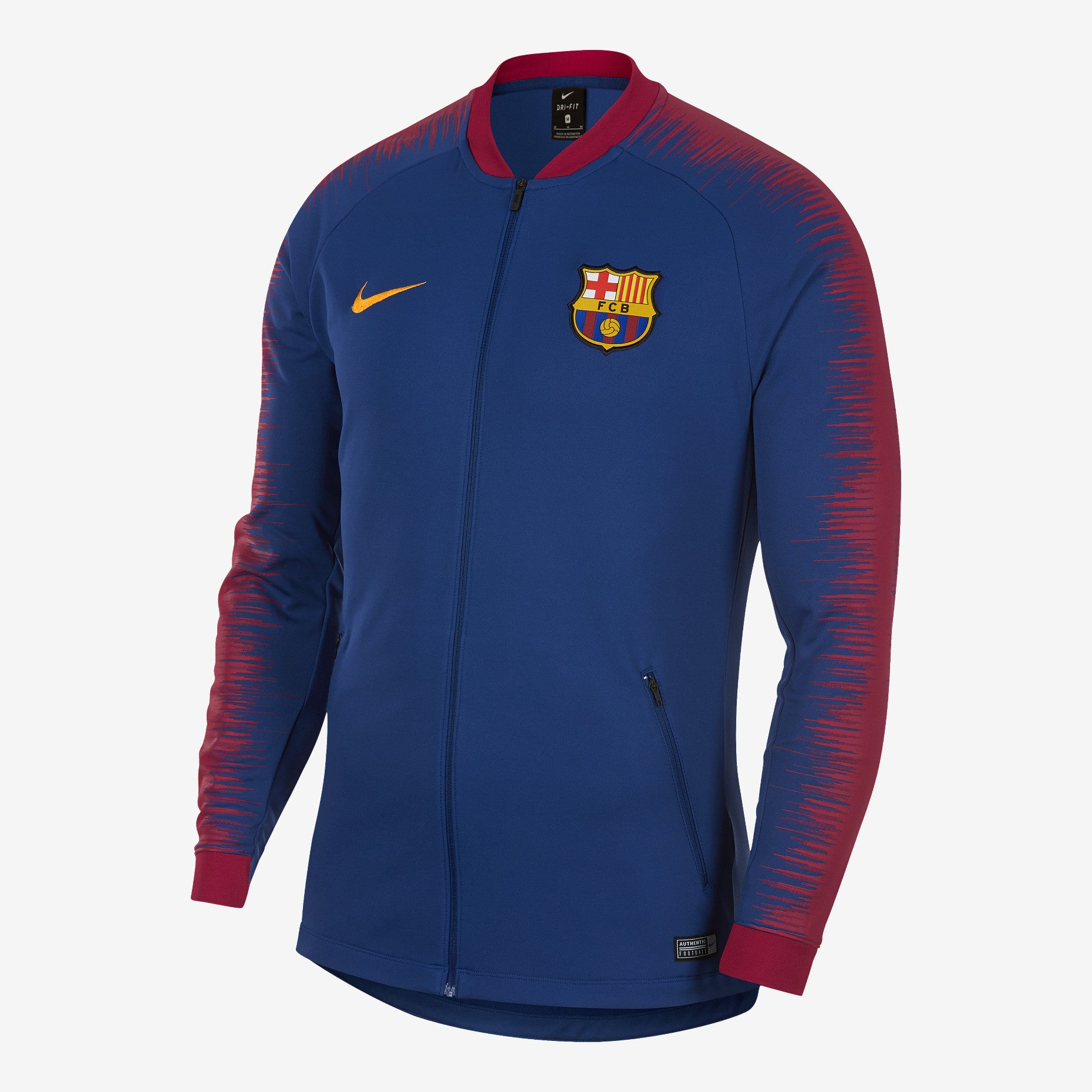 Nike - Men s Nike FC Barcelona Football Jacket - La Liga Soccer 42f671b2b925