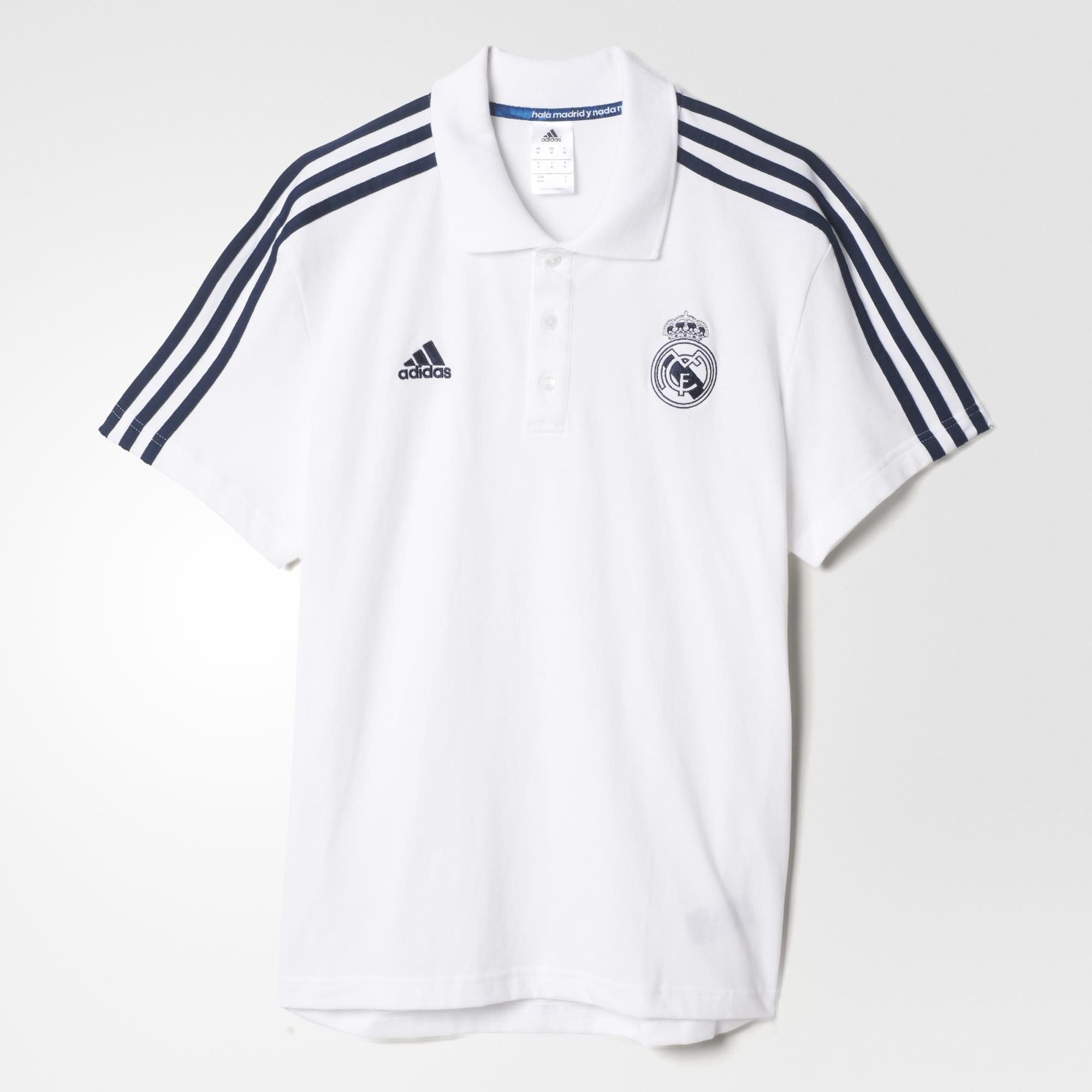 sneakers for cheap c4def bbc29 adidas Real Madrid 3S Polo Shirt