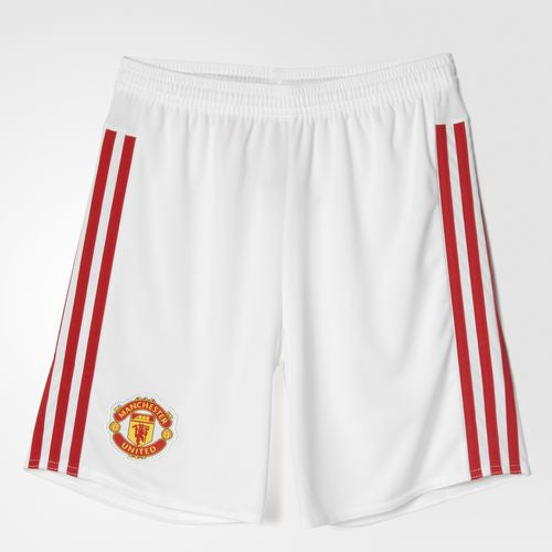 Youth Manchester United FC Home Replica Player Shorts