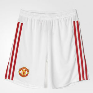 Adidas - Adidas Youth Manchester United FC Home Replica Player Shorts - La Liga Soccer