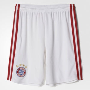 Adidas Youth FC Bayern München Home Replica Shorts - La Liga Soccer - 1