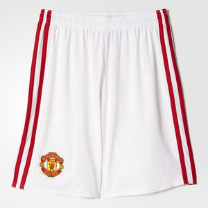 Adidas - Adidas Youth Manchester United FC Home Replica Shorts - La Liga Soccer