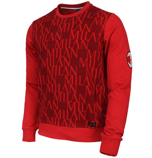 Adidas - Adidas AC Milan Graphic Sweat Top - La Liga Soccer