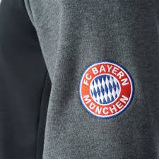 Adidas FC Bayern Munchen Graphic Sweat Top - La Liga Soccer - 1
