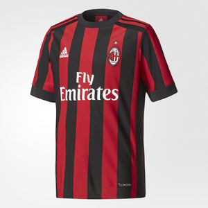 adidas Youth AC Milan 2017/18 Home Jersey