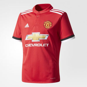 Adidas - Adidas Youth Manchester United Home 2017/18 Replica Jersey - La Liga Soccer