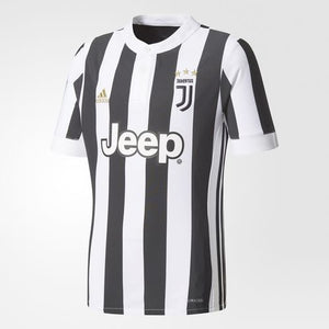 Adidas Youth Juventus 2017/18 Home Replica Jersey