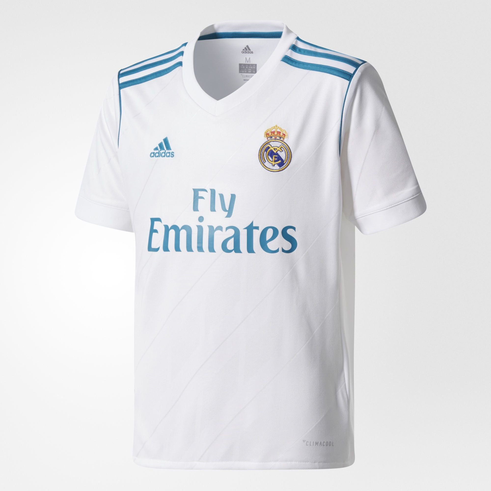 a393d7a1a Adidas - Adidas Youth Real Madrid 2017/18 Home Replica Jersey - La Liga  Soccer