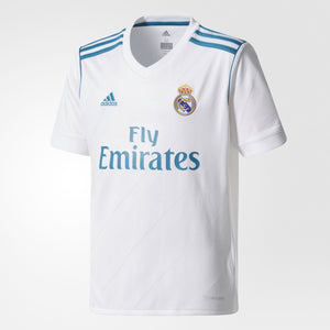 Adidas - Adidas Youth Real Madrid 2017/18 Home Replica Jersey - La Liga Soccer